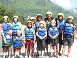 Summers Family Rafting Trip